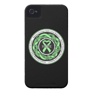 Celiac Disease  Hope Intertwined Ribbon iPhone 4 Case-Mate Cases