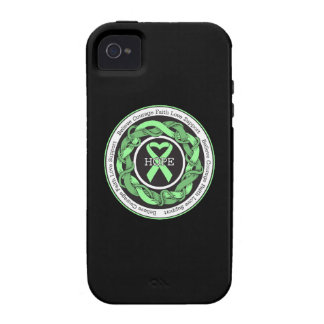 Celiac Disease  Hope Intertwined Ribbon Case For The iPhone 4