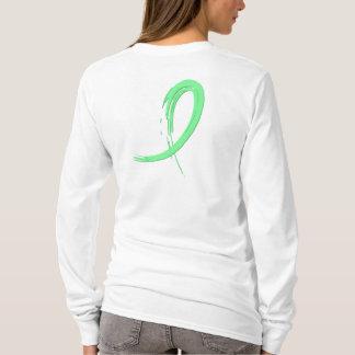Celiac Disease Light Green Ribbon A4 T-Shirt