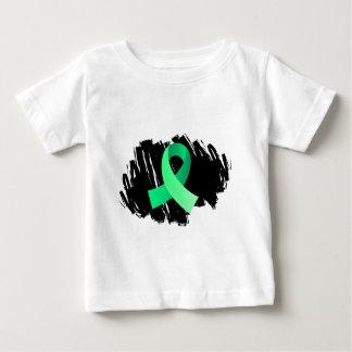 Celiac Disease Light Green Ribbon With Scribble Tee Shirts