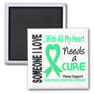 Celiac Disease Needs A Cure 3 2 Inch Square Magnet