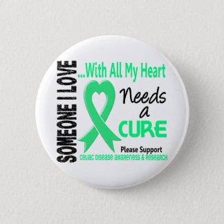 Celiac Disease Needs A Cure 3 Pinback Button