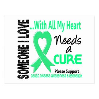 Celiac Disease Needs A Cure 3 Postcard