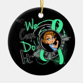 Celiac Disease Rosie Cartoon WCDI Ornaments