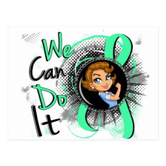 Celiac Disease Rosie Cartoon WCDI Postcard