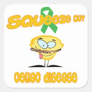 Celiac Disease Square Sticker