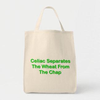 Celiaco separa el trigo de la grieta bolsa de mano