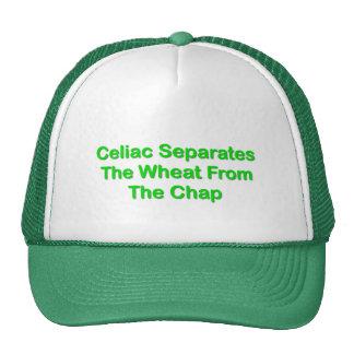 Celiaco separa el trigo de la grieta gorro