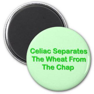 Celiaco separa el trigo de la grieta iman para frigorífico