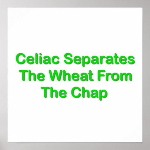 Celiaco separa el trigo de la grieta póster