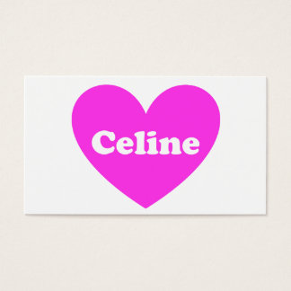 Celine Business Card