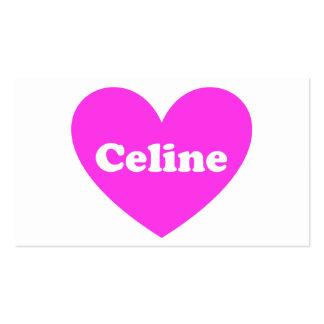 Celine Tarjetas De Visita