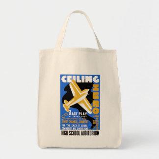 Celing Zero Grocery Tote Bag