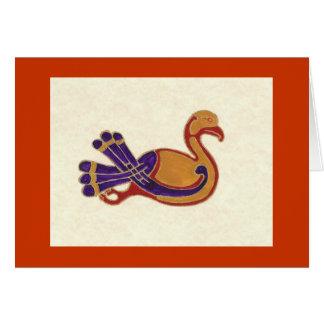 CELITC BIRD GREETING CARD