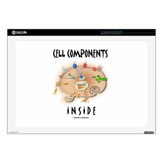"""Cell Components Inside 17"""" Laptop Skins"""