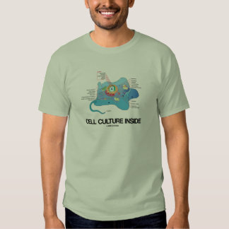 Cell Culture Inside (Eukaryotic Cell) T-Shirt