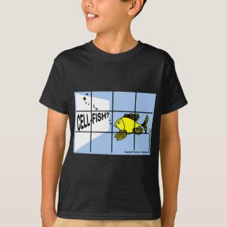 Cell-Fish Hilarious Cell Fish selfish fish cartoon T-Shirt