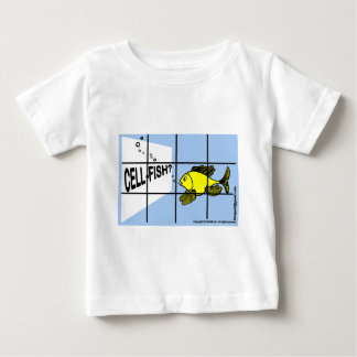 Cell-Fish Hilarious Cell Fish selfish fish cartoon Tee Shirt