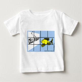 Cell-Fish Hilarious Cell Fish selfish fish cartoon T Shirt