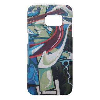 Cell Graffiti#1 - by TRICKSTER REX Samsung Galaxy S7 Case