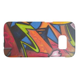 Cell Graffiti#4 - by TRICKSTER REX Samsung Galaxy S7 Case