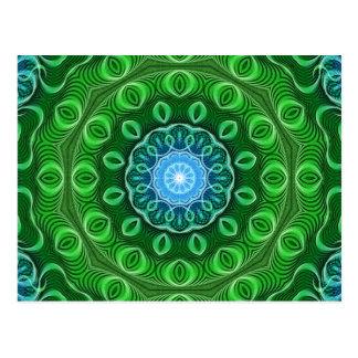 Cell Growth Mandala Postcard