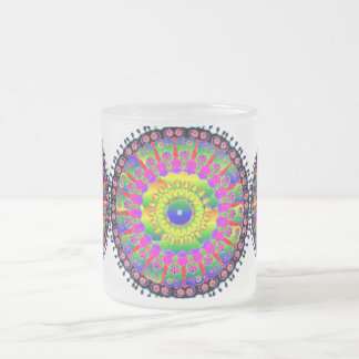 Cell Medallion Print Mugs