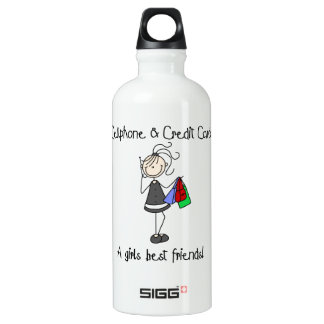 Cell Phone and Credit Cards Water Bottle
