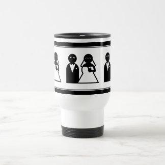 Cell Phone Bride at Wedding Coffee Mug