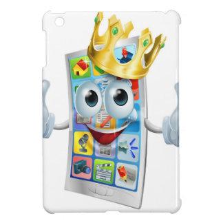 Cell phone cartoon king iPad mini case