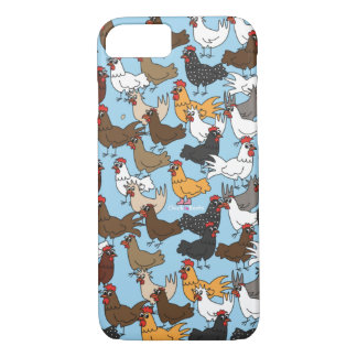 Cell Phone Case/Cover - Blue iPhone 8/7 Case