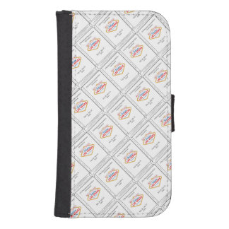 Cell Phone Case/Wallet Combo Wallet Phone Case For Samsung Galaxy S4