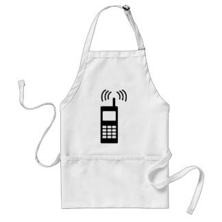 cell phone celly mobil handy aprons