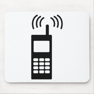 cell phone celly mobil handy mouse mat