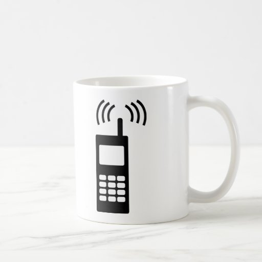 cell phone celly mobil handy mugs