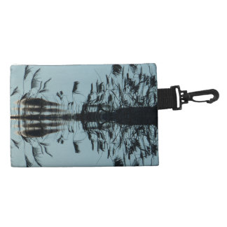 """Cell phone Clip on Purse """"Fly free"""" Abstract"""