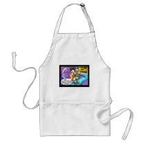 Cell Phone Conversations Funny Gifts & Tees Adult Apron