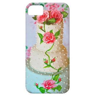 cell phone cover-wedding cake iPhone SE/5/5s case