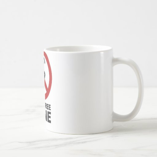 Cell Phone Free zone Classic White Coffee Mug