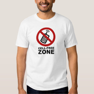 Cell Phone Free zone T-Shirt