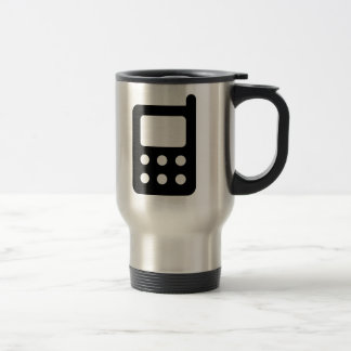 Cell Phone Icon Coffee Mugs