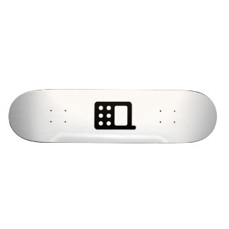 Cell Phone Icon Skate Deck