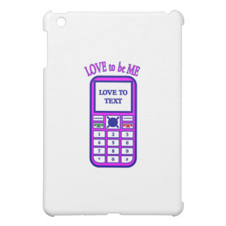 CELL PHONE - LOVE TO BE ME.png iPad Mini Covers