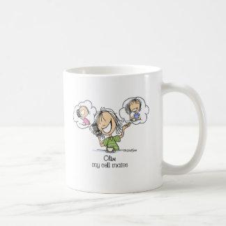 Cell Phone Nuts Classic White Coffee Mug