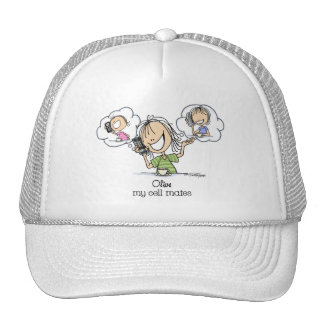 Cell Phone Nuts Trucker Hat