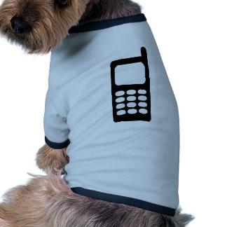 Cell phone pet tshirt