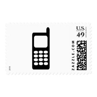 Cell phone postage stamp