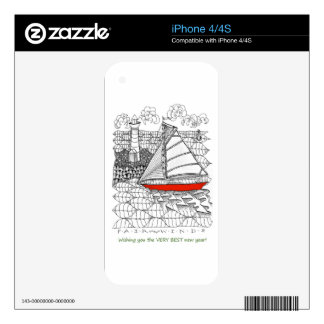 Cell Phone Skins Skin For iPhone 4