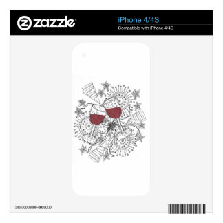 Cell Phone Skins Decals For iPhone 4