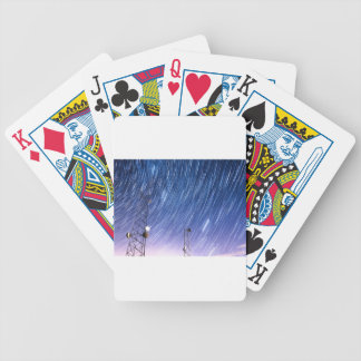 Cell Phone Tower Star Communications Bicycle Playing Cards